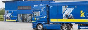 Entsorgung Recycling Schubboden LKW Abfallwirtschaft