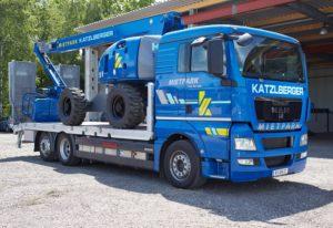 Mietpark Vermietung Transport Gerätetransport Gütertransport Materialtransport Spezialtransport Sondertransport Logistik Logistiklösung LKW Hebebühne